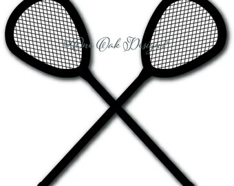 Lacrosse Goalie Sticks SVG File, DXF, PDF, ai, eps, png, jpg  svg File for Cameo V2 & V3 svg File for Cricut and other electronic cutters