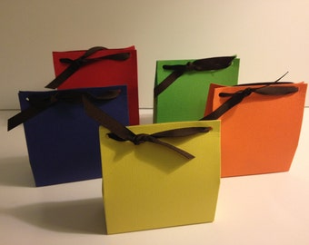 12 Birthday Party Favor Bags