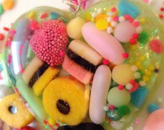 Kawaii Necklace, Pastel Necklace, Candy Necklace, Pop Art Jewelry,?Pastel Jewelry, Food Jewlery, Candy Jewelry, Plastic Jewelry, Allsorts