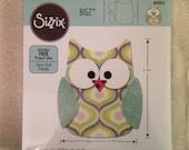 Sizzix Bigz Die, Owl #6 Fabric/Paper Cutting Die Never used paper die cutting tools scrapbooking supplies sizzix dies paper crafting