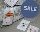 Gift tags with dog illustrations - hand drawn dog art gift tags