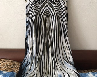 African Print Caftan 100% Rayon One Size