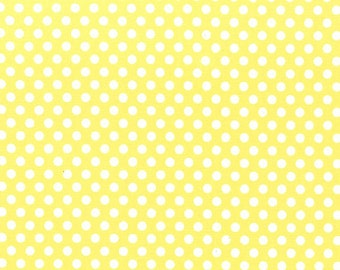 Michael Miller Fabric Kiss dot Polka Dot Yellow