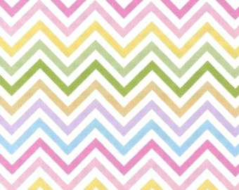 Robert Kaufman Fabric Remix Chevron Stripe Spring Ann Kelle