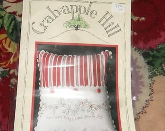 Cross Stitch Pattern / Chart -  Simple Joys of Winter - # 219 - Crab apple Hill