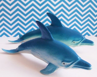 Two Dolphin Cake Toppers