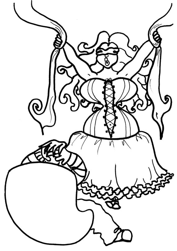 velvet coloring pages - photo#33