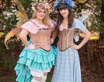 New Style Light Blue Fairy Lace Dress