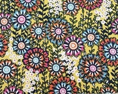 CLEARANCE SALE Swinging Blossoms in Yellow | Blend Fabrics | Josephine Kimberline | By The Yard | Floral Fabric