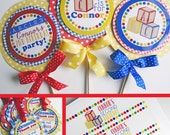 ABC Blocks Birthday Party Decorations Package Fully Assembled