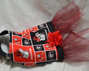 Georgia bulldogs doggie dress