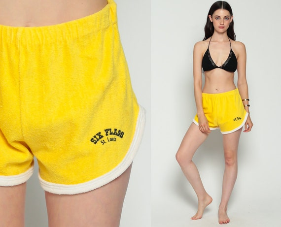 80s running shorts