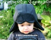 Fleece Baby and Kid's Little Vader Hat