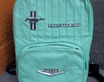 Mustang Backpack in Sea-foam Green