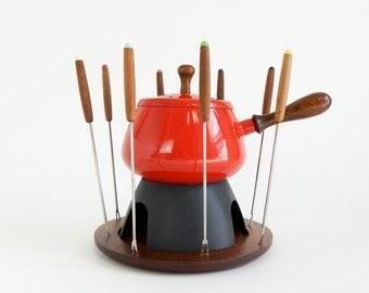 Unique 1960s Fondue Pot Related Items Etsy