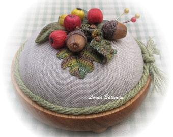 PP19 Berries for the Birds - stumpwork full kit