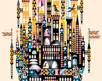 Big Castle Giclee Print