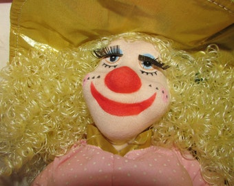 RON LEE Clown Doll Limited Edition 1988 Original Box Paperwork Stand and Tag
