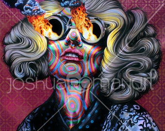 """14"""" X 11"""" Fire within  - Print"""