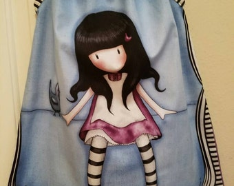 Santoro Gorjuss Doll Dress, Girl pillowcase dress, mod girl dress