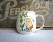 Vintage 1979 Ziggy Garden Love Stoneware Coffee Mug
