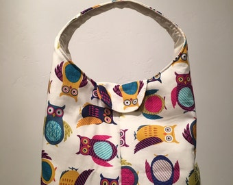 Insulated Lunch Bag - Modern Owls
