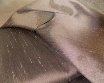 Shantung Shiny Dupioni Satin Fabric by the Yard-Wedding-Silver-Craft-Sewing