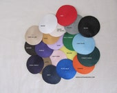 SALE! 12 Fascinator Base with Comb. Millinery Hat Foundation. Choose your colors. One Dozen.