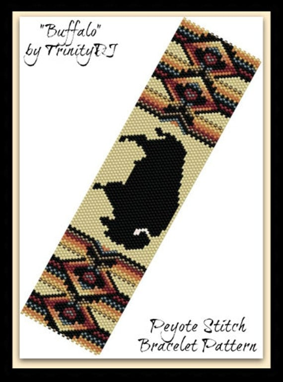 Bp Pey 119 2016 058 Buffalo Peyote Stitch By Trinitydj
