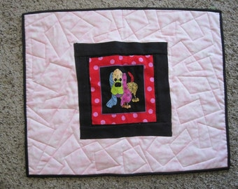 Quilted Dog Mat & Blanket