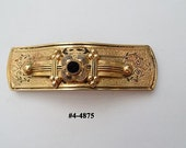 FREE SHIP Taille d' Epargne Large Victorian  Bar Brooch (4-4875)