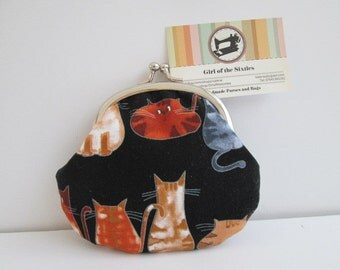Cats Credit Card / Coin Purse