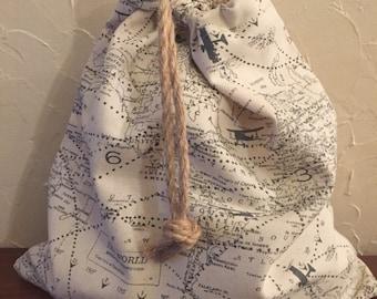 Navigatoring the world multi purpose bag