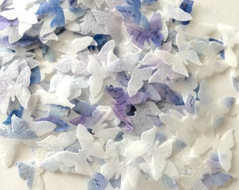 NEW SPARKLE CONFETTI indian style - indian wedding - woodland rustic wedding - sparkle biodegradable confetti -  aspen leaves by Uniqdots