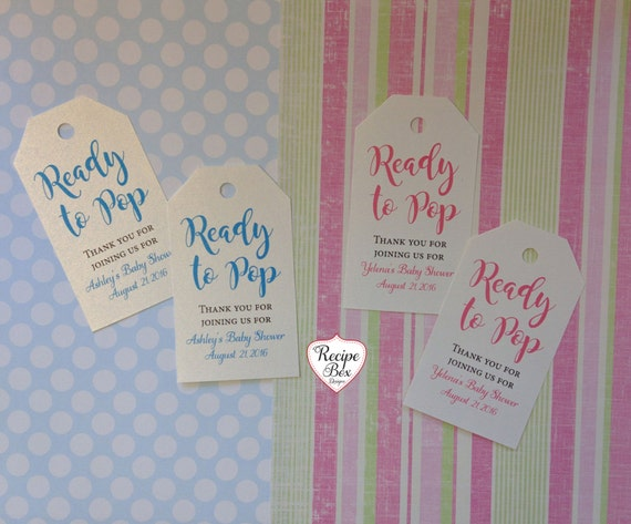 baby shower favor tags ideas customized baby shower tags ready to