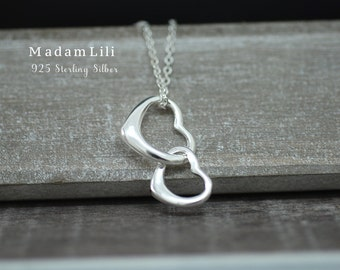 925 Sterling Silver Necklace LOVE FOREVER