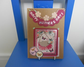 Mothers Day Card, Mothers Day Card UK, Handmade Mothers Day Card, Card For Mum, Special Mum Mothers Day Card,