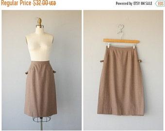 25% OFF SALE... 1970s Skirt | 70s Brown Wool Skirt | Midi Skirt | Saks Fifth Avenue