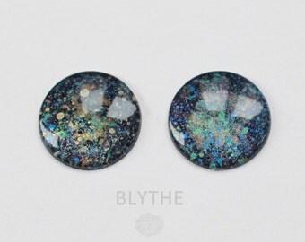 BLYTHE - ooak hand painted blythe eye chips, unique - by KarolinFelix - no 60