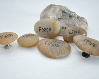 Choose Your Hardware - Inspirational Stone Cabinet Knobs Pulls