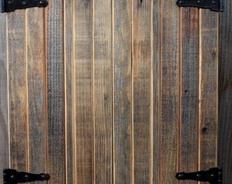 Jewelry Organizer Armoire - Cabinet - Wall Mounted - Modern - Rustic Home Decor - Handmade - Organizing - Bedroom Furniture - 24 x 18 x 4.5