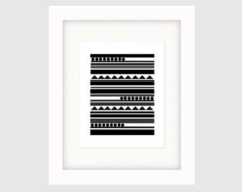 Instant Download Graphic Art Poster, Original Art, Black & Whiter Poster, Minimalist Poster Art , Wall Art Prints, Poster Art, Wall Decor