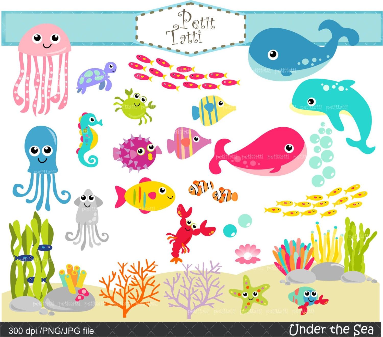Sea clipart | Etsy