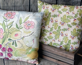 Hedgehog Balsam Decorative Pillow - Pine Scented