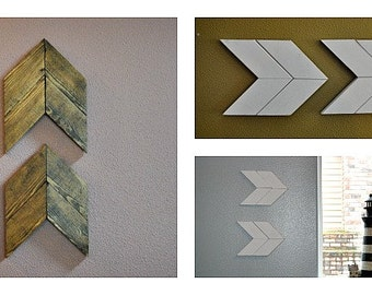 Wood Arrow Wall or Shelf Decor
