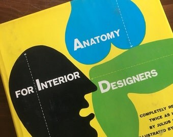 Anatomy for Interior Designers. by Julius Panero. Illustrations by Nino Repetto. 1977.