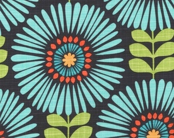 1 yard - Fringe Flowers in Luna,  Michael Miller fabrics