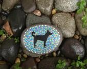 Carolina Dog Rock Paperweight