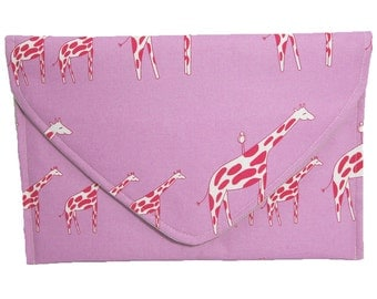 Giraffe Envelope Clutch