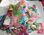 Scrap Box of Vintage Key West Lilly fabric